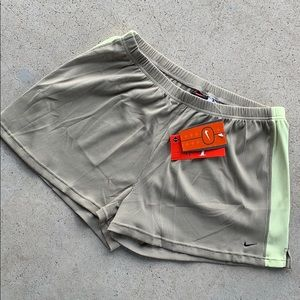 Nike Lounge Olive Ladies Shorts Size XL New W Tags